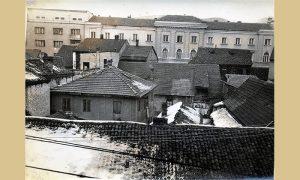 Užička Opština i deo Užica koji će nestati da bi bio izgrađen Blok Zlatibor