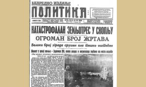 "Prvo vanredno izdanje ""Politike"" je izašlo 1963. zbog zemljotresa u Skoplju"
