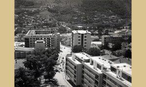 U Užicu se gradilo na sve strane, većinom zgrade u dolini, a na brdima privatne kuće