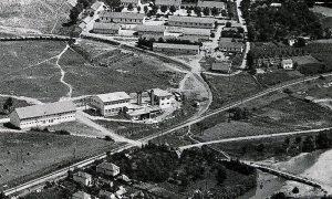 Radničko naselje u Krčagovu, ćirina pruga, stari tok Đetinje