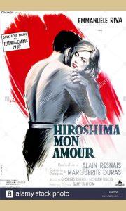 """Plakat za film """"Hirošimo ljubavi moja"""""""