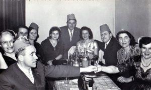 """Doček nove 1964. god. u Motelu """"Zlatiborska noć"""""""