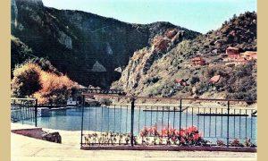 Retka fotografija u boji završene užičke plaže 1964. godine