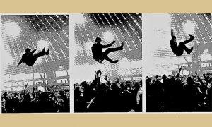 Atmosfera sa nastupa Silueta na Beogradskom sajmu, foto T. Peternik