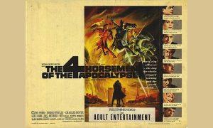 """Originalni poster filma """"Četiri jahača apokalipse"""""""