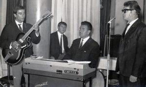 """Brolove """"Ere"""" 1965: Stevo Zarić, Voko Mulina, Brole, Vlade Mršević"""