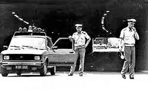 Saobraćajna milicija u Zastavinim vozilima od polovine šezdesetih