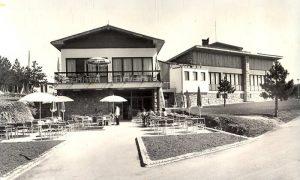 Razglednica iz 1965. - novosagrađeni Hotel Palisad