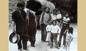 Cigani čergari u Užicu 1965. godine