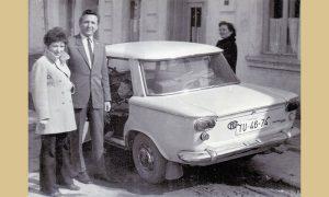 Užički profesor Konstantin Petrović sa porodicom i tristaćem