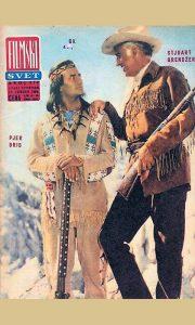 Filmski svet iz 1966, na naslovnoj Vinetu i Old Šeterhend