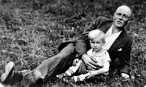 Petar Lajko sa sinom Milanom