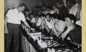 Svetozar Gligorić na simultanki
