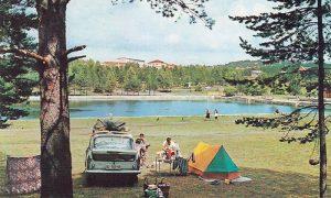 Na Zlatiboru se kampovalo pored jezera