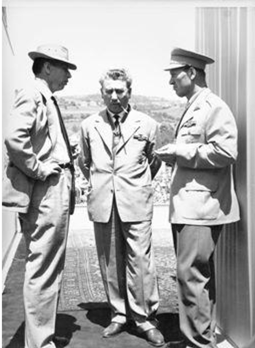 Krcun, i Rankovic 1961. na velikom mitingu u Krčagovu