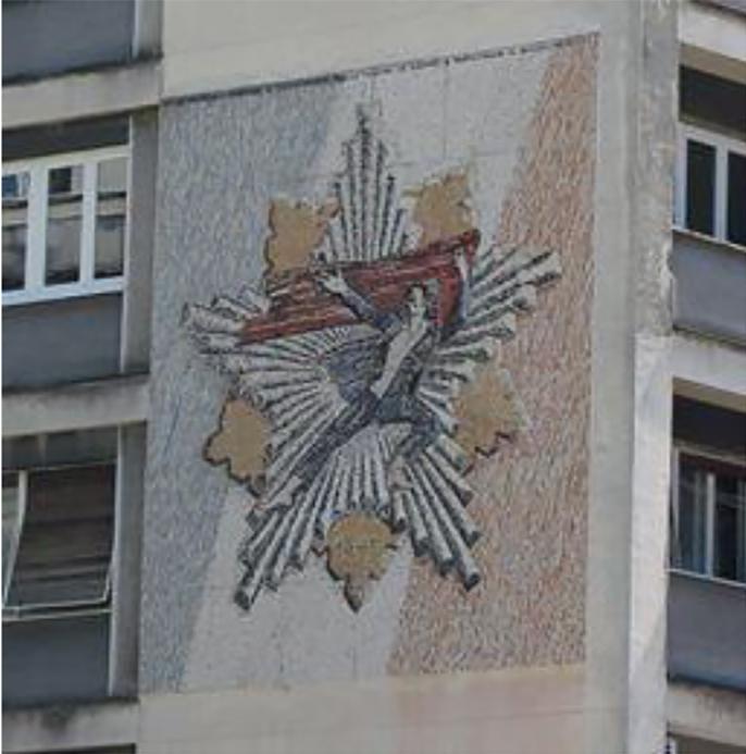 Mozaik Partizanska spomenica na Uzičkom Trgu