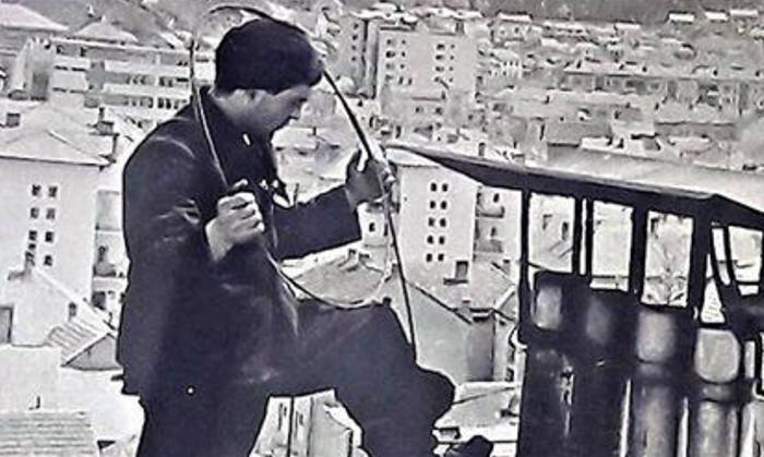 Dule odžačar na užičkim krovovima