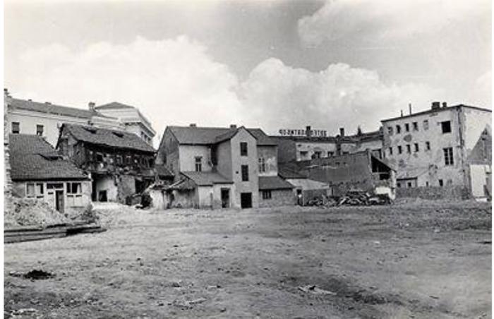 Deo Užica gde će se graditi Blok Zlatibor je srušen ostao deo uz glavnu ulicu još neko vreme