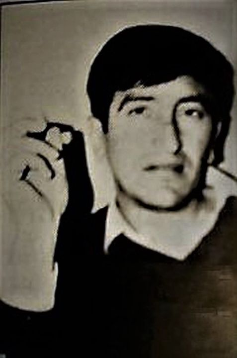 Mladi Milan Mišo Vergović.