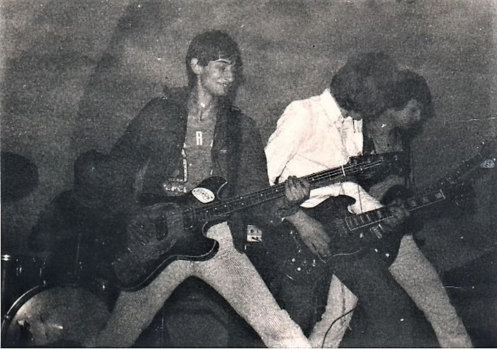 """Strah"" na svom prvom rok koncertu u Ravnima 1977"