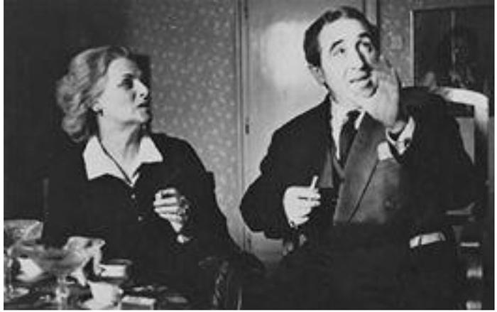 Aca Stojković sa ženom Rahelom Ferari