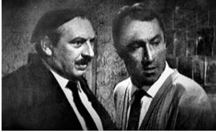 Đokica Milanković sa Mijom Aleksićem
