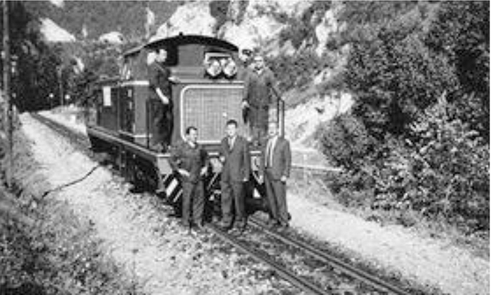 Prva užička dizel lokomotiva