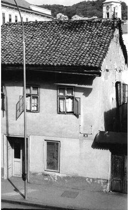 Uskokovića kuča sa prekrešenom spomen pločom