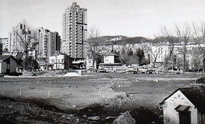 Kada je završen soliter u Bloku Zlatibor bio je to najvišlji soliter u zemlji