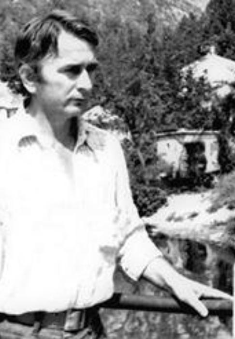 Mladi Duško |Trifunović u vreme kada je boravio u T. Užicu