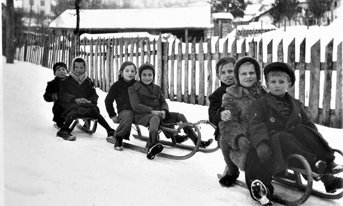 Ulice u Klisuri su bile idealne za zimske radosti