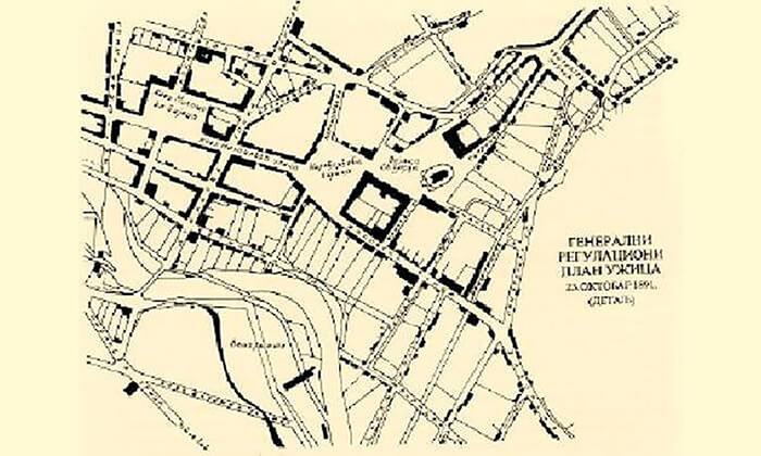 Generalni regulacioni plan Užica iz 23. oktobra 1891. godine