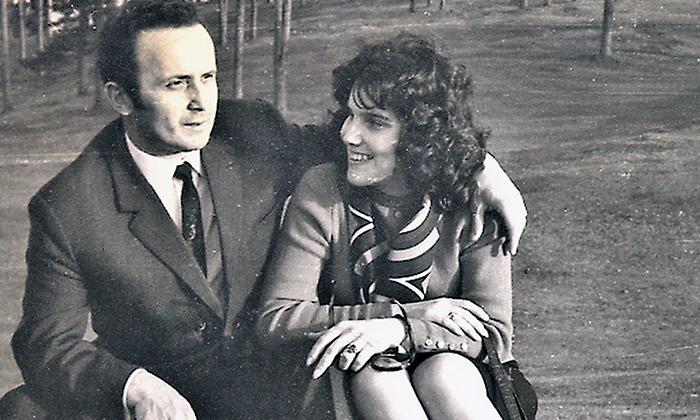 Direktor Gimnazije Dragutin Korać sa ženom Draganom, ćerkom učitelja Žunića