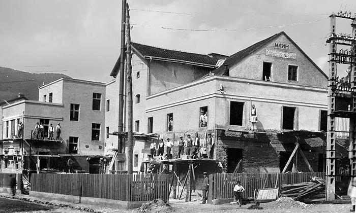 Mlin na Rakijskom završni radovi 1912. godine