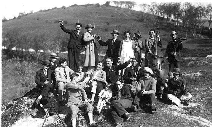 Orkestar Nikolića je pratio Užičane i na izletima u okolini Užica