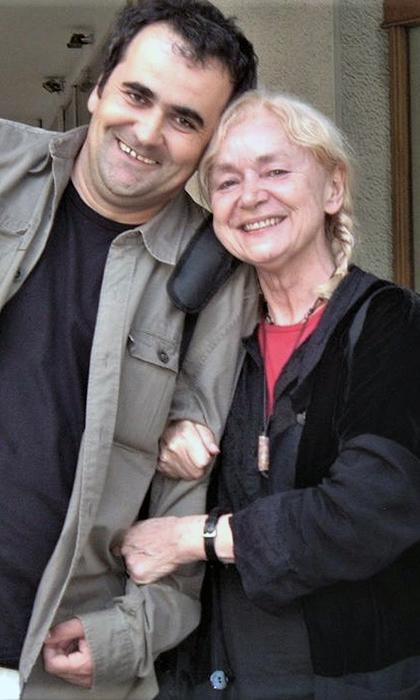 Književnik Zoran Jerimić i književnica Nađa Tešić