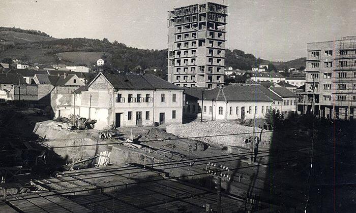 Početak gradnje robne kuće