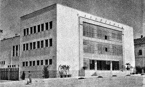 Godina 1949. tek izgradjeni Dom JNA