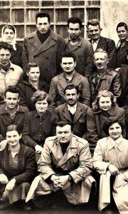 Deo Prvog radnickog saveta Tkačnice 1950.