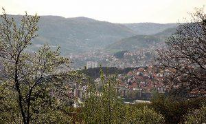 Pogled na Užice sa Mendinog brda