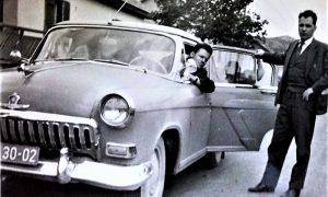 Volga Zavoda za socijalno koju je vozio vozač Janićije