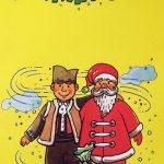 Ovako je umetnik video Božić Batu i Deda Mraza, ilustracija na koricama slikovnice iz 1996. godine.