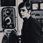 Mladi Boban Gavrilović na svom radnom mestu u Valjaonici Bakra