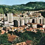 Detalj panorame Užica snimljene 1969. godine