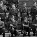 Vojska u dvorištu užičke kasarne u Kragovu