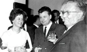 Tito, Savka, Mika Špiljak u Sarajevu na Drugom kongresu samoupravljača
