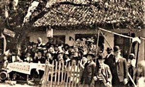 """Kafana """"Pod Lipom"""" u sklopu izletišta Abicija pred Prvi sv. rat"""