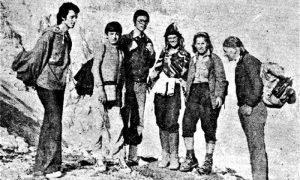 Profesor Milan Popović je vodio gimazijalce na planinarenje vikendom