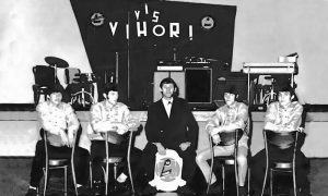 Vihori sa menadžerom Badžom 1967. godine