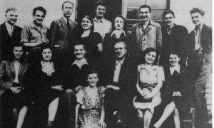 Prvi ansambl užičkog pozorišta 1945/46